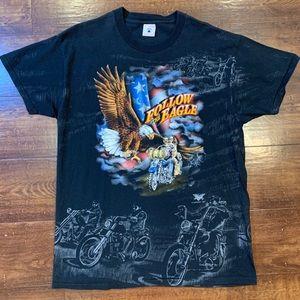 Vintage Harley-Davidson Hong Kong Eagle T-Shirt
